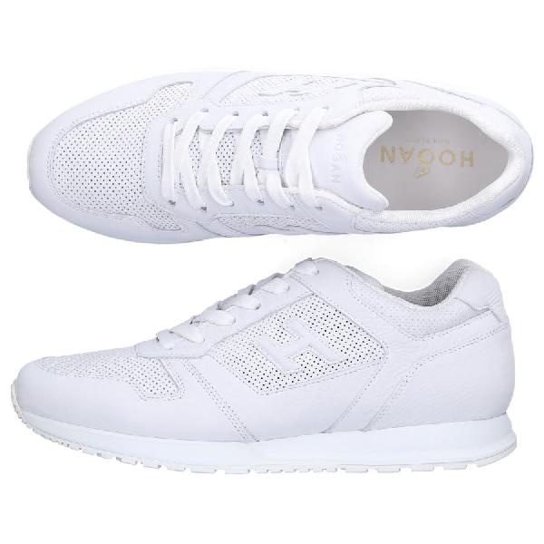 Hogan Low-Top Sneakers H321 Calfskin Logo White