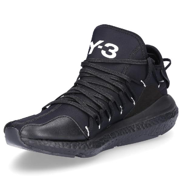 Y-3 Low-Top Sneakers Kusari  Neoprene Embroidery Logo Black