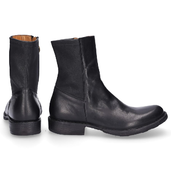 Fiorentini + Baker Boots Ebe  Smooth Leather Black