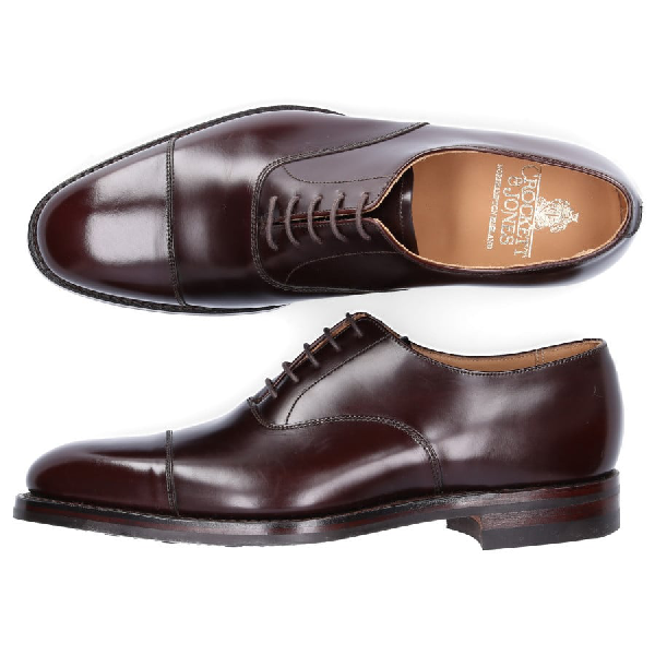 Crockett & Jones Business Shoes Oxford Dorset In Brown