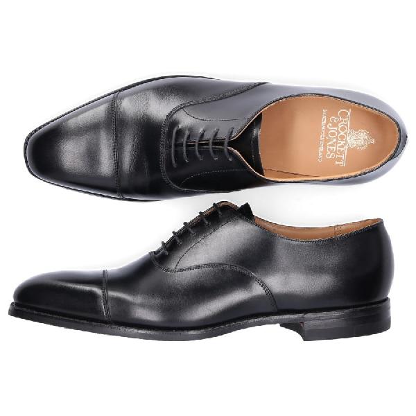 Crockett & Jones Business Shoes Oxford Hallam Calfskin Black