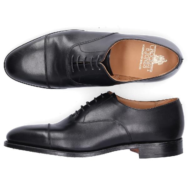 Crockett & Jones Business Shoes Oxford Connought In Black