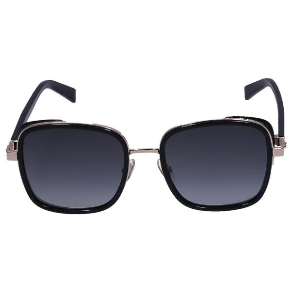 Jimmy Choo Women Sunglasses Square Elva/S 2M29O Acetate Black