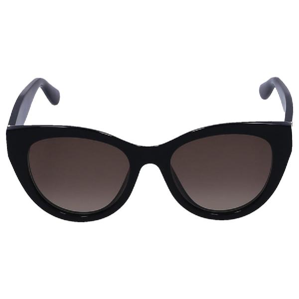 Jimmy Choo Women Sunglasses Cat Eye Chana 087Ha Acetate Black