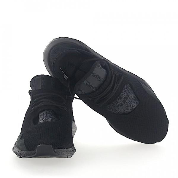Y-3 Low-Top Sneakers Saikou Mesh Logo Black