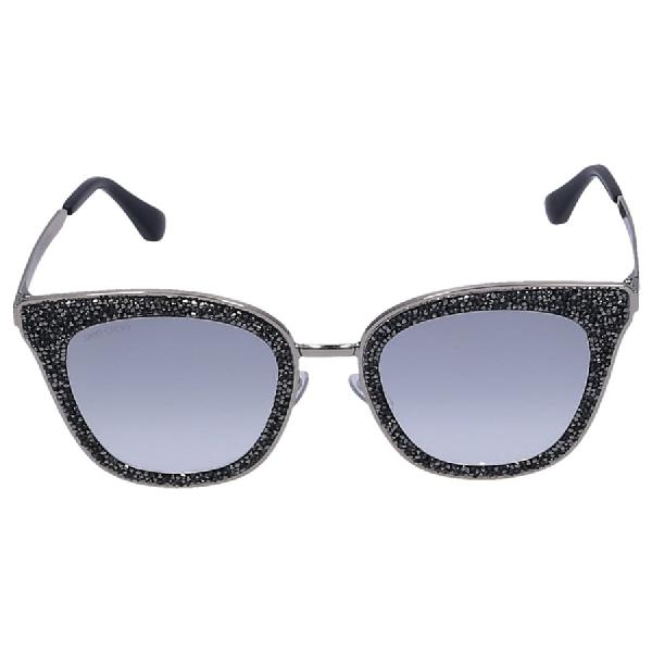 Jimmy Choo Women Sunglasses Wayfarer Lizzy 3Ygic Metal Gold