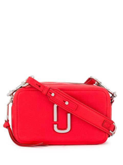 "Marc Jacobs The Softshot 21"" Cross-Body Bag"" In 612 Geranium"