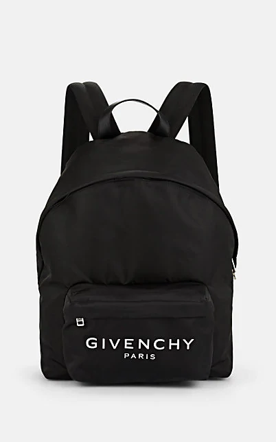 Givenchy Urban Leather-Trimmed Backpack - Wht.&Blk.