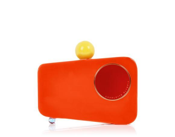 Charlotte Olympia Mobile Clutch In Perspex_803_Very%20Orange