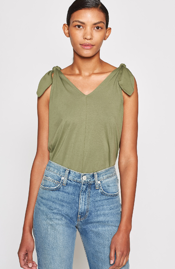 Joie Coman Cotton Top In Canopy
