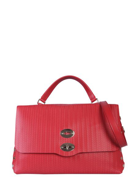 Zanellato Medium Postal Bag In Red