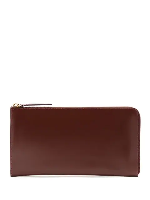 Sarah Chofakian Leather Wallet In Brown