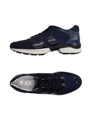 Tod's Sneakers In Dark Blue