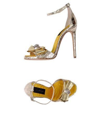 John Richmond Sandals In Gold