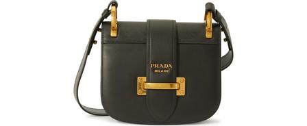 Prada Pionner Crossbody Bag In Black
