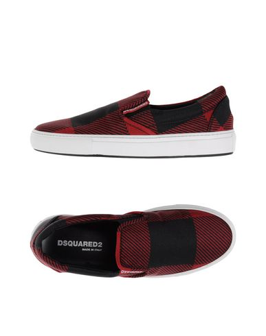 Dsquared2 Sneakers In Red