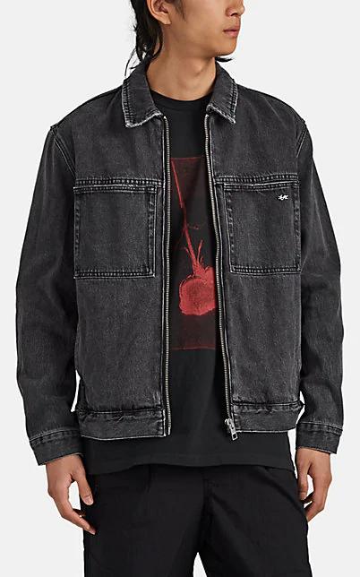 Ksubi Werker Denim Jacket In Black