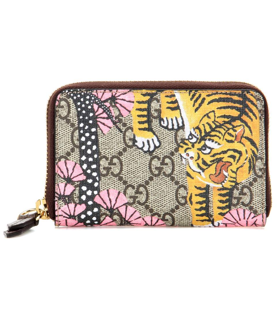 Gucci Bengal-print Watch In Leige Eloey
