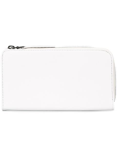 Maison Margiela Classic Zip Around Wallet - White