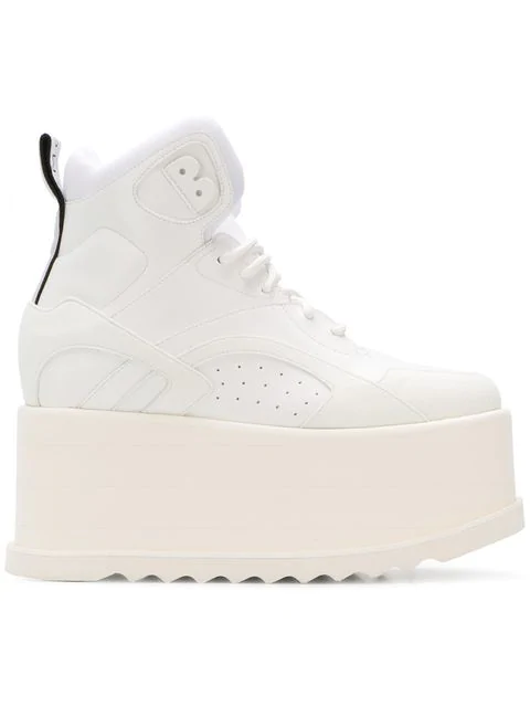 Stella Mccartney Eclypse Platform Sneakers In White