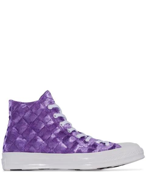 Converse X Golf Le Fleur Chuck Taylor 70 Sneakers In Purple