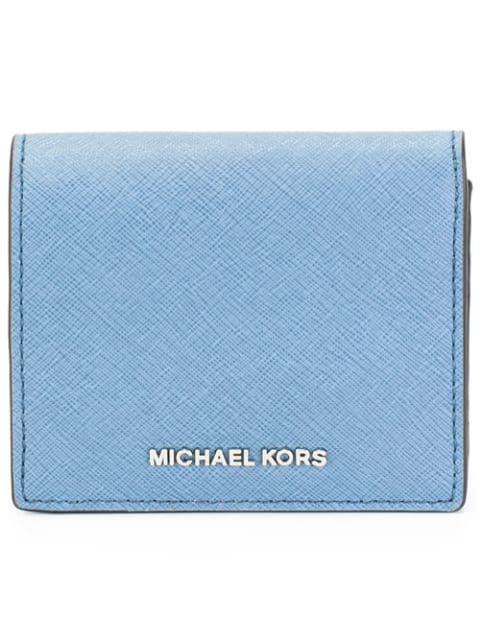 Michael Michael Kors Logo Plaque Purse - Blue