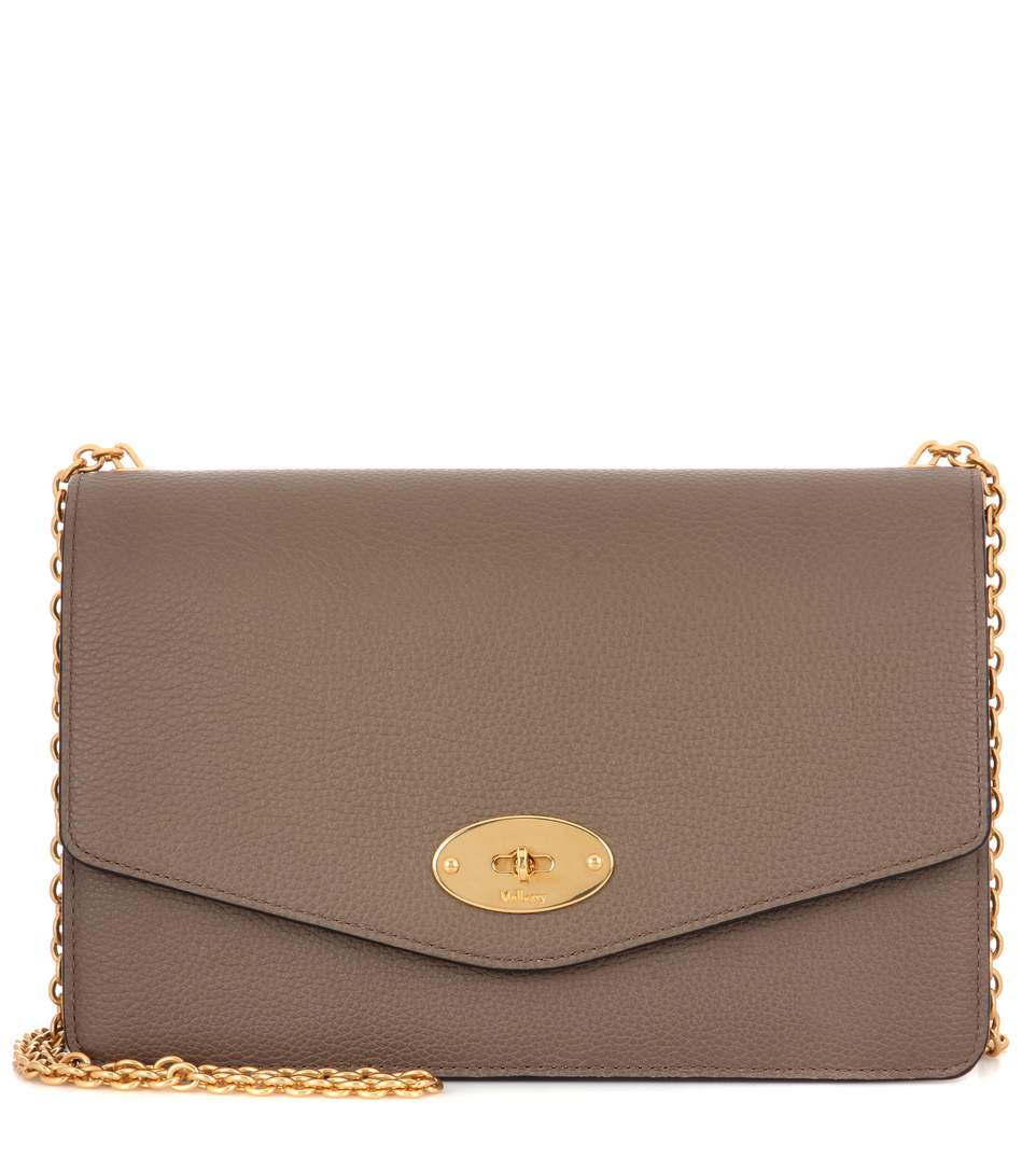 005a419ceb6e Mulberry Darley Small Classic Leather Shoulder Bag In Clay