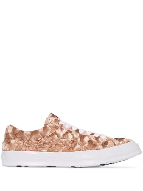 Converse X Golf Le Fleur* One Star Low Top Sneaker In Brown