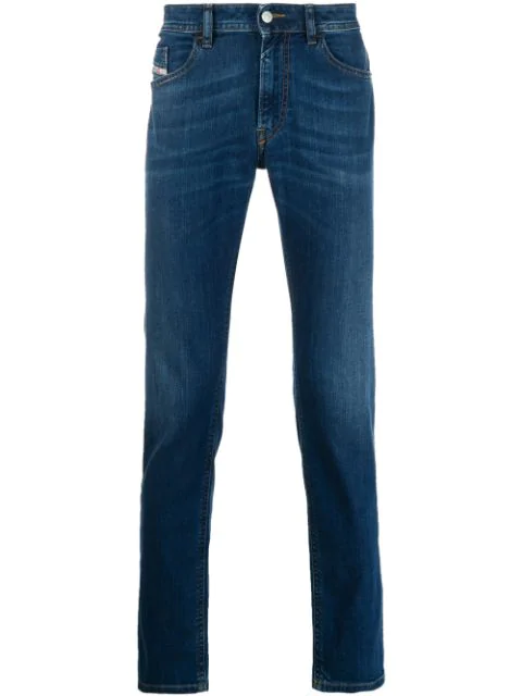 Diesel Slim Fit Jeans In Blue