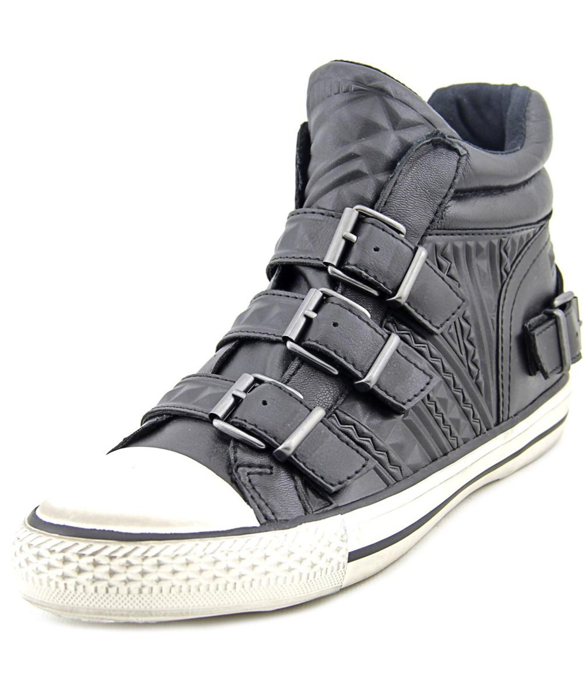 Ash Venom Women   Leather Black Fion Sneakers