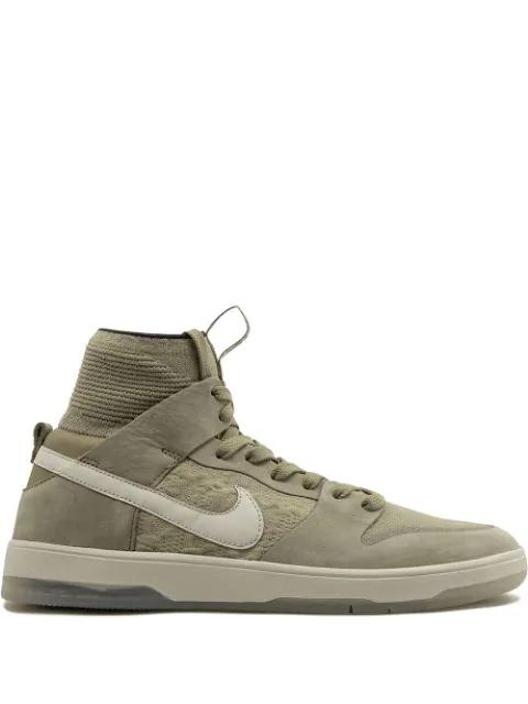 brand new c4820 a7290 Nike Sb Zoom Dunk High Elite Sneakers - Grey