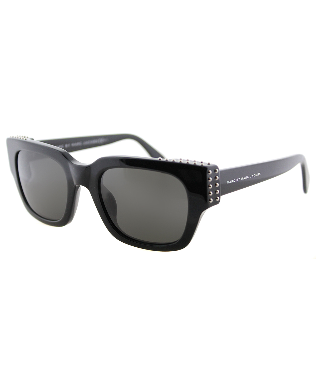 Marc By Marc Jacobs Cat-eye Plastic Sunglasses In Black