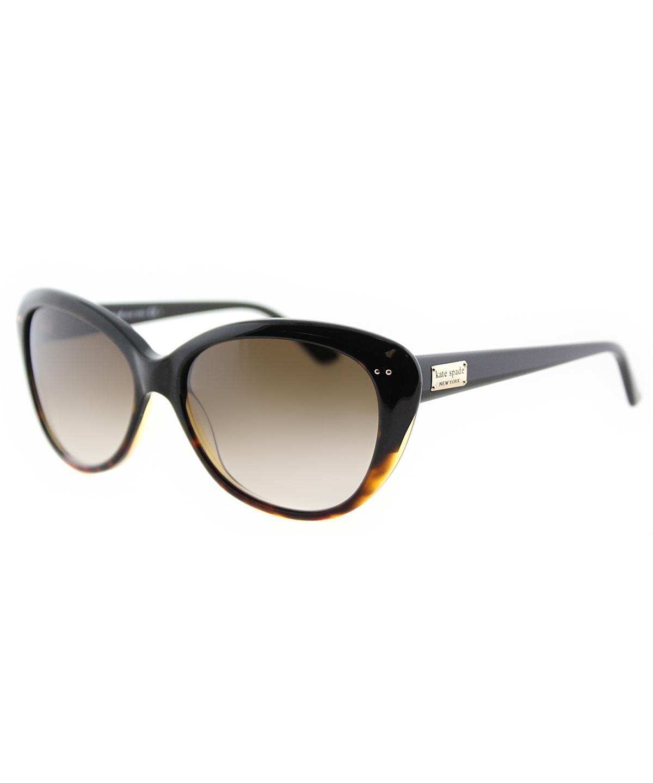 Kate Spade Cat-eye Plastic Sunglasses In Tortoise Fade