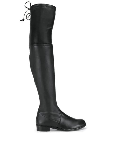 Stuart Weitzman The Lowland Boot In Black