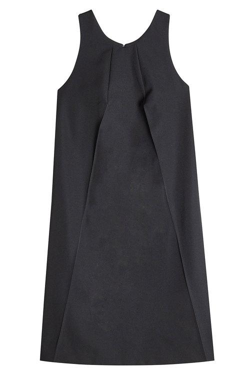 Nina Ricci Wool Dress In Black