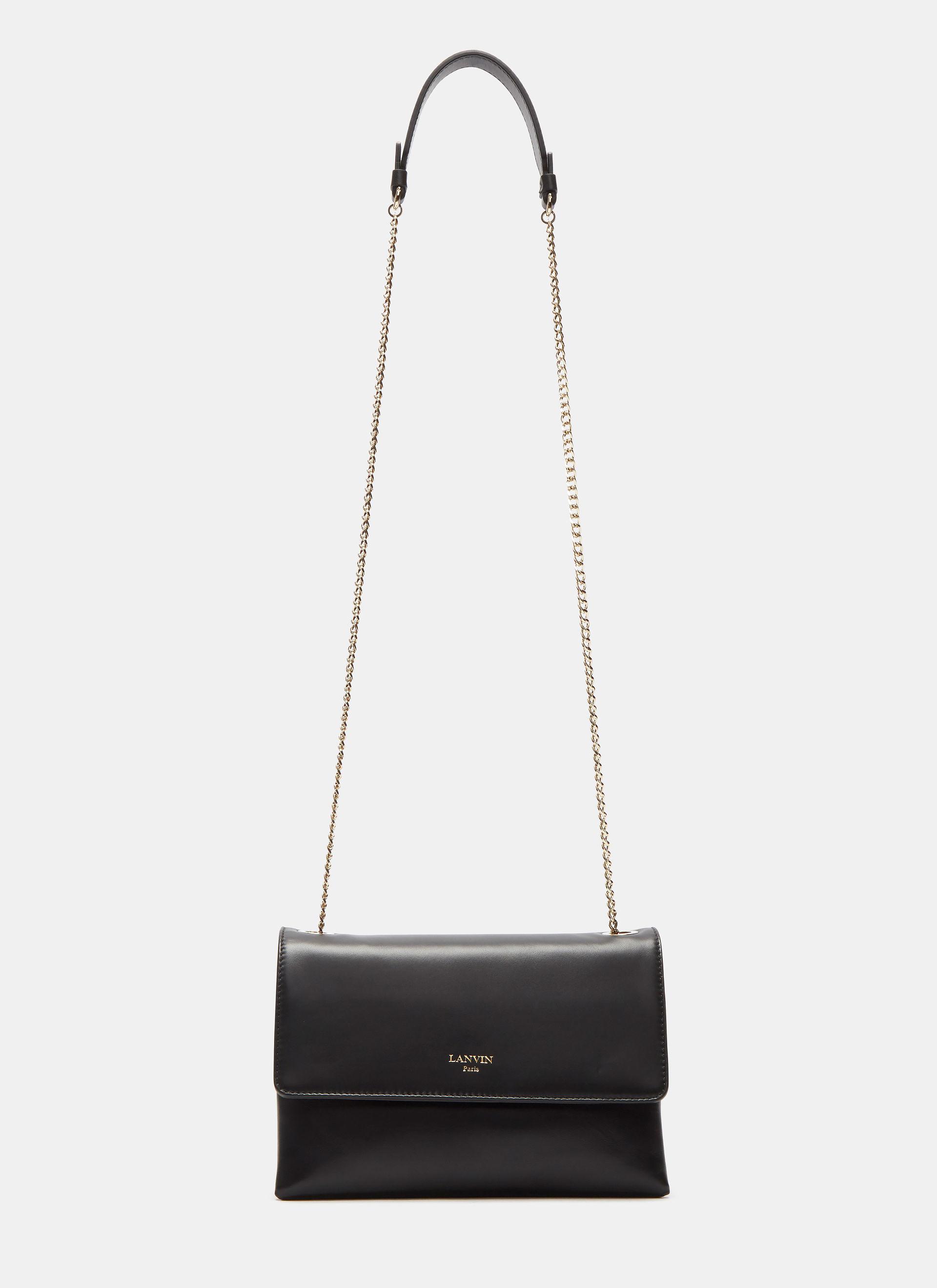 Lanvin Mini Sugar Crossbody Bag In Black