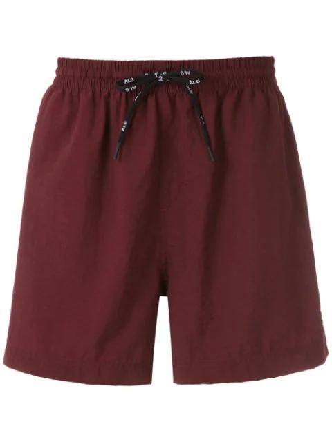 ÀLg Nylon Shorts - Braun In Brown