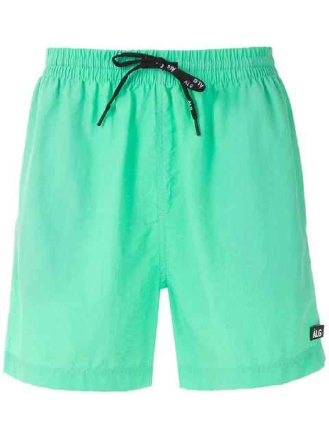 ÀLg Nylon Shorts In Green