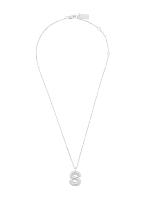Marc Jacobs Bubbly S Pendant In Silver