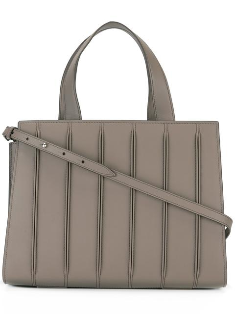 Max Mara Medium Handle Tote Bag In Brown