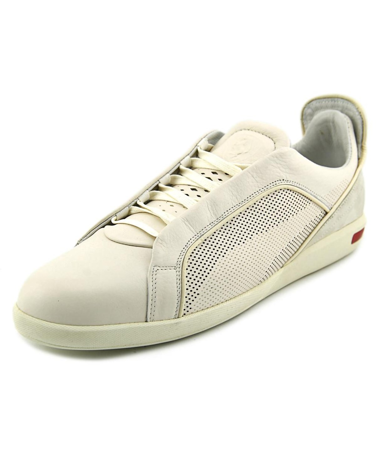 Puma Ultimate Sf-10 Men  Round Toe Leather Ivory Sneakers