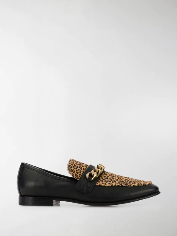 Boyy Embellished Loafers In Black