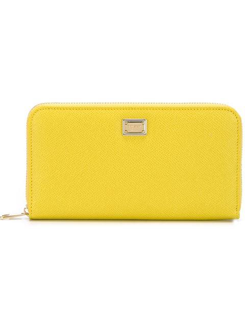 Dolce & Gabbana 'dauphine' Wallet - Yellow