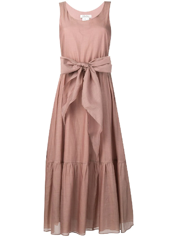 36f972854c Knot Detail Long Dress in Pink