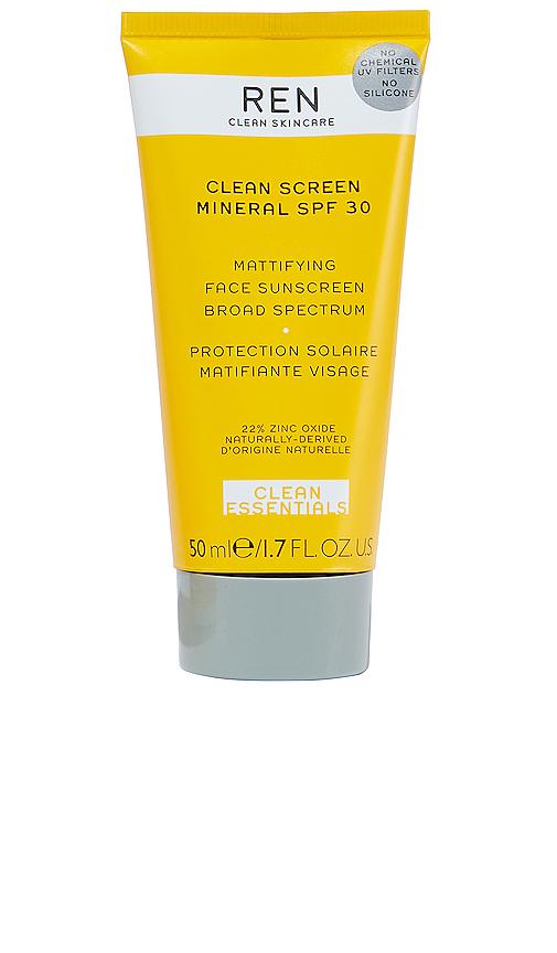 Ren Clean Skincare Clean Screen Mineral Spf 30 Mattifying Face Sunscreen In N,a