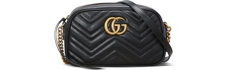 Gucci Gg Marmont MatelassÉ Shoulder Bag In Black