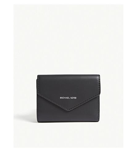 Michael Michael Kors Blakely Leather Wallet In Black