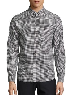 A.p.c. Mick Shirt In Off-black