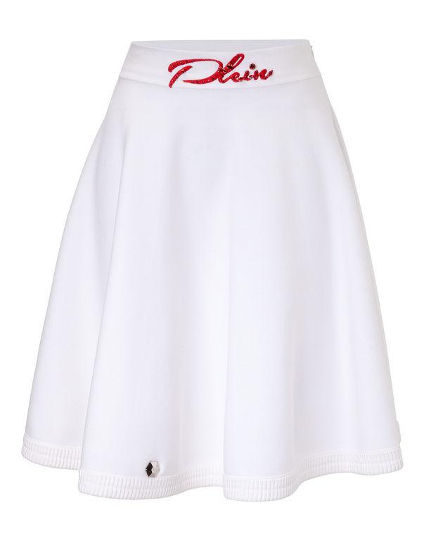 "Philipp Plein Short Skirt ""chamomilla"""