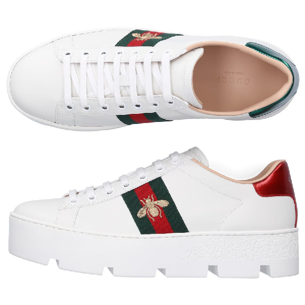 Gucci Low-Top Sneakers Dope0 In White